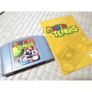 NINTENDO 64 - 【レア】Nintendo64 マリオテニス(説明書付) 北米版
