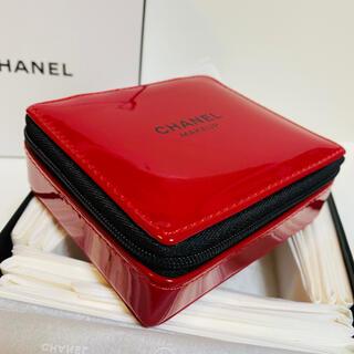 CHANEL - 新品未使用★シャネル ノベルティ ポーチ ミニ化粧箱 小物入れ 口紅のノベルティ