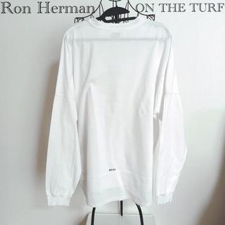 ロンハーマン(Ron Herman)のロンハーマン オンザターフ ロングTシャツ ホワイト(Tシャツ/カットソー(七分/長袖))