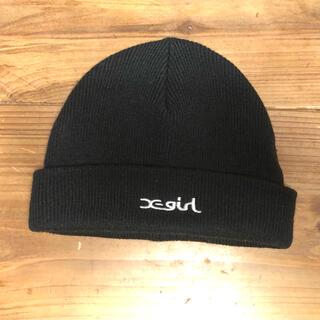 エックスガール(X-girl)のエックスガール ニット帽 ビーニー(ニット帽/ビーニー)