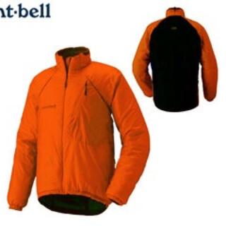 モンベル(mont bell)のMontbell/サーマライドジャケット 男性用 1130210/SSOG/S(ナイロンジャケット)