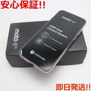 Motorola - 新品 SIMフリー moto e6s エレキピンク