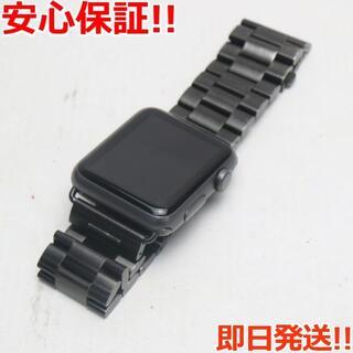 アップル(Apple)の超美品 Apple Watch 42mm ブラック (その他)