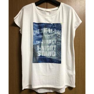 ジーナシス(JEANASIS)のジーナシス  プリント Tシャツ(Tシャツ(半袖/袖なし))
