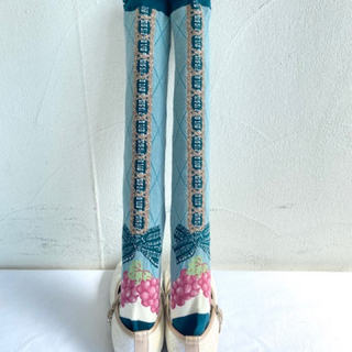 シャーリーテンプル(Shirley Temple)のシャーリーテンプル  ぶどうバスケット  靴下(靴下/タイツ)