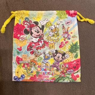 Disney - Disney sea 15周年 サマーフェスティバル2016 巾着