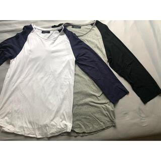ナノユニバース(nano・universe)のナノユニバース 7分丈Tシャツ Lサイズ 2枚組(Tシャツ/カットソー(七分/長袖))