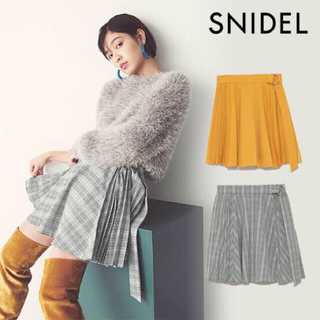 snidel - ✡美品✡SNIDEL/プリーツスカショーパン