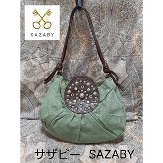 サザビー(SAZABY)のサザビー SAZABY 本革コンビ/ハンドバッグ(ハンドバッグ)