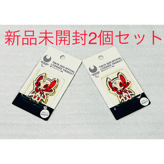 東京パラリンピック メタルマグネット 2個セット 新品 未開封(記念品/関連グッズ)