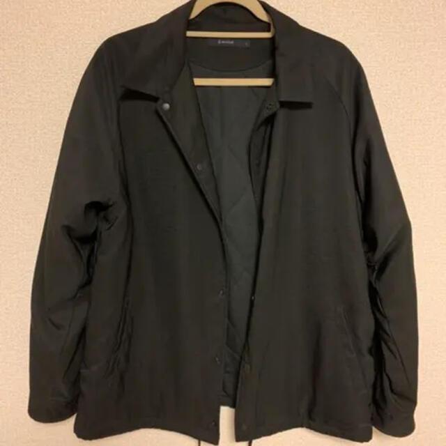 RAGEBLUE(レイジブルー)のRAGEBLUE コーチジャケット ブラック 黒 メンズのジャケット/アウター(ブルゾン)の商品写真