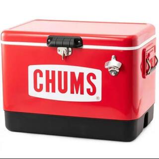 CHUMS - 新品 チャムス CHUMS スチールクーラーボックス 54L CH62-1283