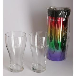 コカコーラ(コカ・コーラ)のniziU コカ・コーラ 保冷ペットボトルクーラー&ペアグラス(グラス/カップ)