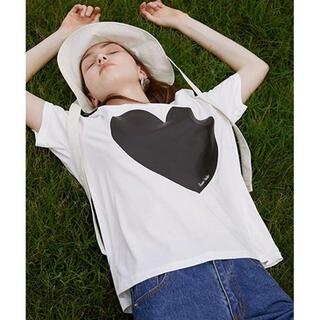 ステュディオス(STUDIOUS)の【Fano Studiosセール】Big heart T shirt(Tシャツ/カットソー(半袖/袖なし))
