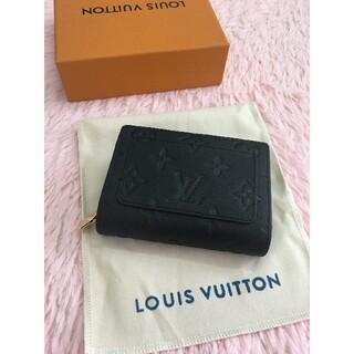 ルイヴィトン(LOUIS VUITTON)の【美品】 ルイヴィトンポルトフォイユ・クレア ミニ財布(折り財布)