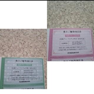 名古屋鉄道 名鉄 株主優待 名鉄イン クーポン ホテル 宿泊 旅行 飲食 食事(その他)