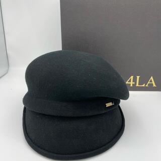 カシラ(CA4LA)の【試着のみ】CA4LA MAY L アシンメトリー キャスケット(キャスケット)