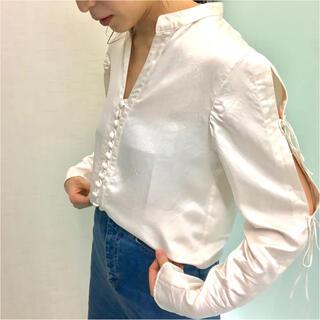 マメ(mame)のmame kurogouchi Botanical Dye Silk Shirt(シャツ/ブラウス(長袖/七分))