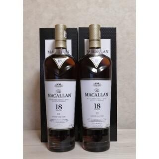 サントリー(サントリー)のMACALLAN マッカラン18年 2019リリース 2本(ウイスキー)