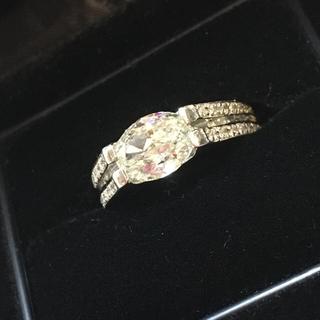 【大幅値下げ!】ダイヤモンドリング 1.585ct 6号(リング(指輪))