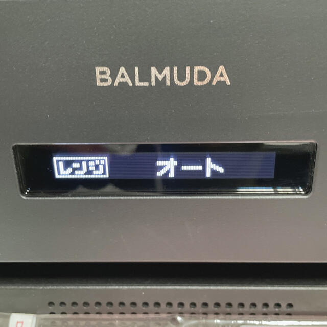 BALMUDA(バルミューダ)の20日まで延長 BALMUDA The Range バルミューダ ザ レンジ スマホ/家電/カメラの調理家電(電子レンジ)の商品写真