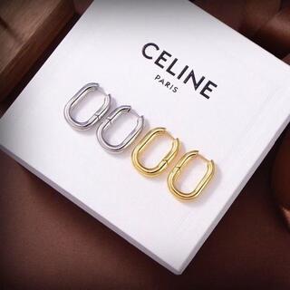 セリーヌ(celine)の新品希少 CELINE セリーヌ フィービー  ゴールドフープピアス(ピアス)