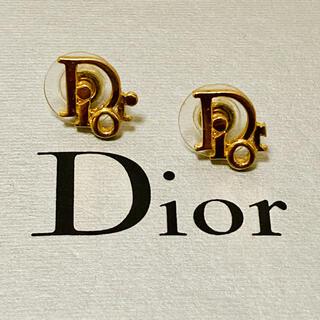 クリスチャンディオール(Christian Dior)のクリスチャンディオール ❤️ ヴィンテージ シンプル ピアス(ピアス)