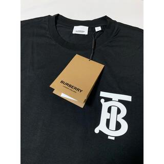 バーバリー(BURBERRY)の新品【 バーバリー 】ロングスリーブ モノグラムモチーフ コットントップ XL(Tシャツ/カットソー(七分/長袖))