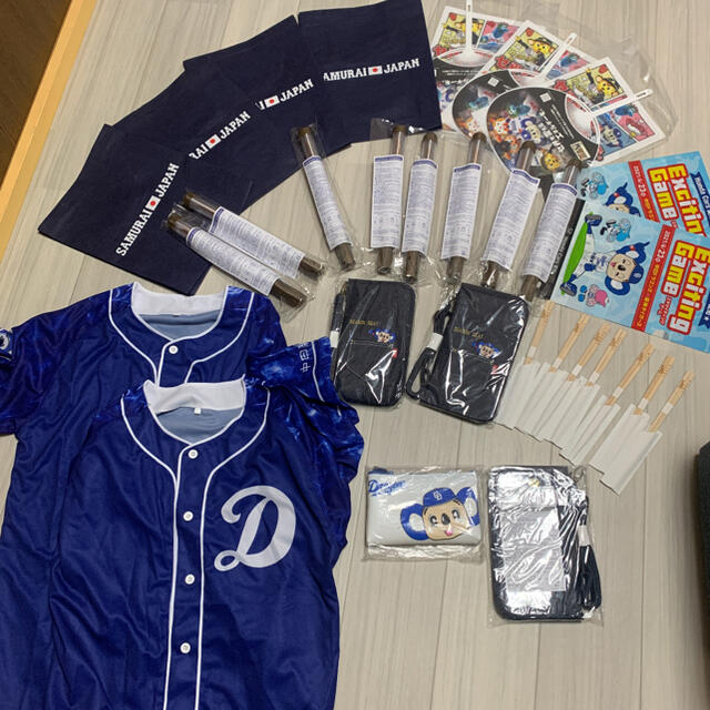 中日ドラゴンズ(チュウニチドラゴンズ)の中日ドラゴンズ 応援セット スポーツ/アウトドアの野球(応援グッズ)の商品写真