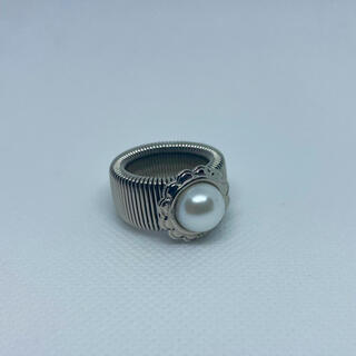 コムデギャルソン(COMME des GARCONS)のpearl ring 指輪(リング(指輪))