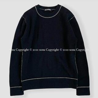 ISSEY MIYAKE - ISSEY MIYAKE イッセイミヤケ ウール ニット セーター 4 ブラック