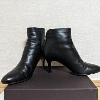 ペリーコ(PELLICO)のペリーコ PELLICO バックジップショートブーツ 黒(ブーツ)