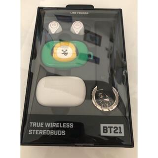 ボウダンショウネンダン(防弾少年団(BTS))のBT21 Bluetooth ワイヤレスイヤホン(ヘッドフォン/イヤフォン)