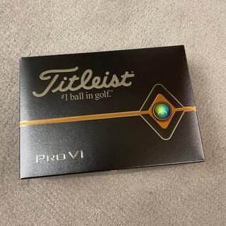 Titleist - タイトリスト pro v1 1ダース 2020年モデル