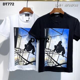 ディースクエアード(DSQUARED2)のDSQUARED2(#126)2枚9000 Tシャツ 半袖 M-3XLサイズ選択(その他)