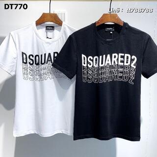 ディースクエアード(DSQUARED2)のDSQUARED2(#128)2枚9000 Tシャツ 半袖 M-3XLサイズ選択(その他)
