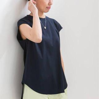 ノーブル(Noble)のNOBLE 亜耶バネッサさん監修 SLEEVELESS LONG Tシャツ(カットソー(半袖/袖なし))