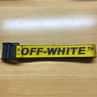 オフホワイト(OFF-WHITE)のOff-White オフホワイト ベルト 確実正規品(ベルト)