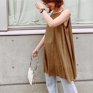 シールームリン(SeaRoomlynn)のsearoomlynn シャーリングvolumeショートドレス新品未使用品(キャミソール)