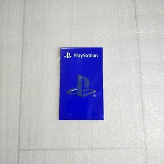 プレイステーション(PlayStation)の【公式グッズ】「PlayStation」 ロゴ ステッカー グレー【非売品】(その他)
