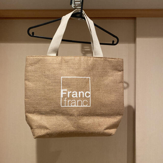 Francfranc - 【美品】Francfranc 保冷バッグ エコバッグ トートバッグ フランフラン