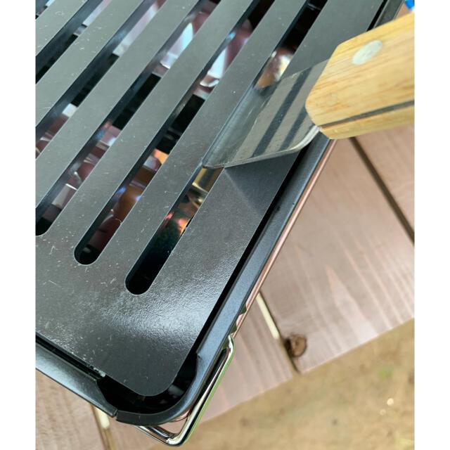 Iwatani(イワタニ)の炙りや 用 極厚鉄板 6ミリ ヘラセット ヒロシキャンプ ソロキャンプ DOD スポーツ/アウトドアのアウトドア(調理器具)の商品写真