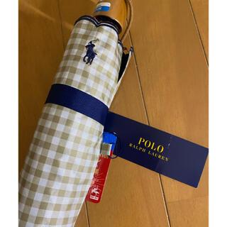 ポロラルフローレン(POLO RALPH LAUREN)の新品ポロラルフローレン 日傘  日焼け対策 ギンガムチェック柄(傘)