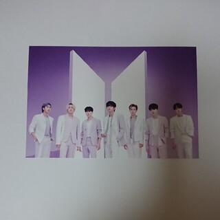 BTS THE BEST 展示会 ポストカード パープル オール ALL 全員(アイドルグッズ)