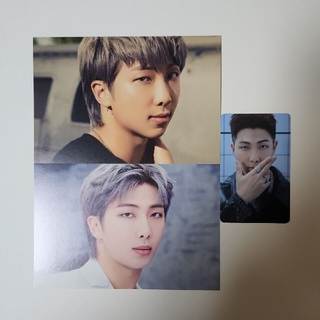 BTS THE BEST 展示会 ポストカード RM ナムジュン(アイドルグッズ)
