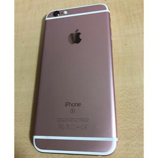 アイフォーン(iPhone)のiPhone 6s ローズゴールド シムロック解除済 64GB(スマートフォン本体)