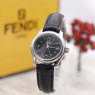 フェンディ(FENDI)の正規品【新品電池】FENDI 210L/動作良好 人気モデル ブラック(腕時計)