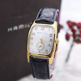ハミルトン(Hamilton)の正規品【新品電池】HAMILTON ボルトン/H134110 動作良好 ヴィン(腕時計)