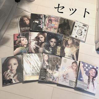 コーセー(KOSE)の安室奈美恵・安室ちゃん・LIVE・DVD・14点セット・(ミュージシャン)