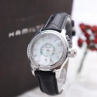 ハミルトン(Hamilton)の正規品【新品電池】HAMILTON シークィーン カーキ/H772110 動作品(腕時計)